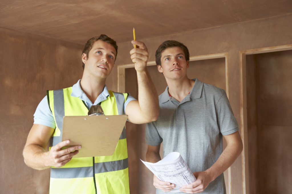 Bringing an inspector when buying a house