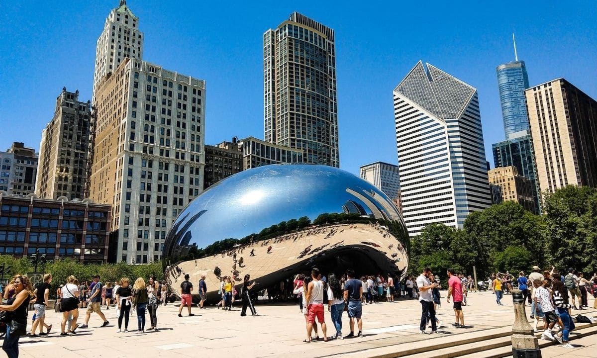 who build the chicago bean