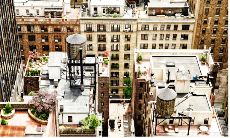nyc apartments outdoor space